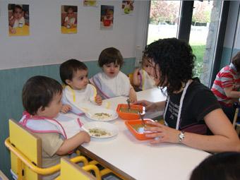 Ayuntamiento de pamplona servicios for Comedor de escuela