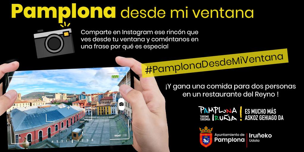 '#Pamplona desde mi ventana', concurso fotográfico en Instagram para mostrar los rincones de la ciudad