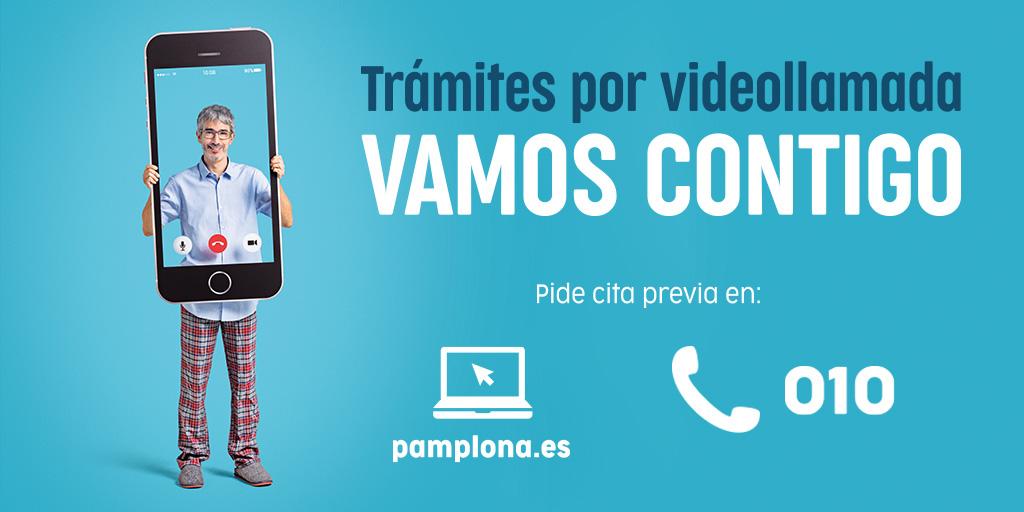 Las declaraciones del IAE se incorporan al nuevo servicio de trámites por videollamada del Ayuntamiento de Pamplona